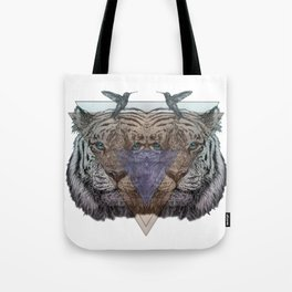 Ghosts of the Wild Tote Bag