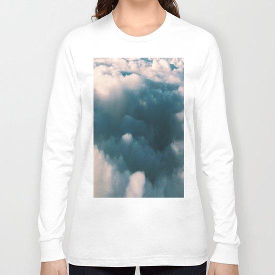 Blue Clouds Long Sleeve T-shirt