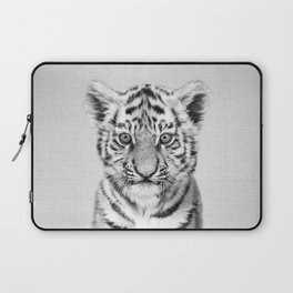 Baby Tiger - Black & White Laptop Sleeve