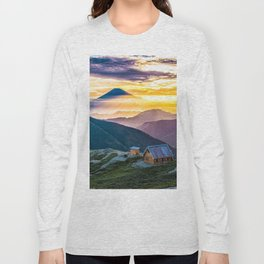 Mt Fuji I Long Sleeve T-shirt