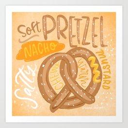 Soft Pretzel Art Print