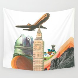 Leaving MoMo City Wall Tapestry