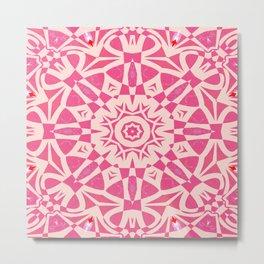 Pink Freize Metal Print