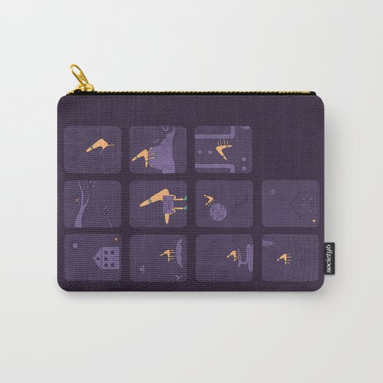 Taking The Long Road Home Carry-All Pouch