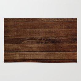 Dark Wood Rug