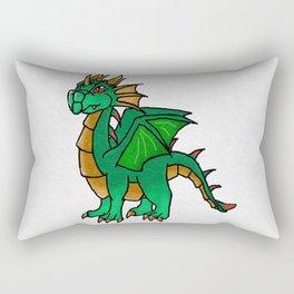 Ollo the dragon Rectangular Pillow