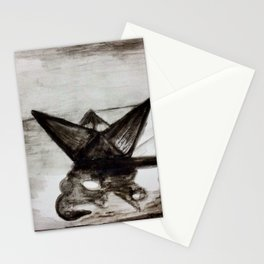 Little paper boat Stationery Cards