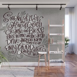 Witchy Blessing Wall Mural