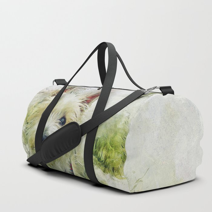 West Highland White Terrier Duffle Bag