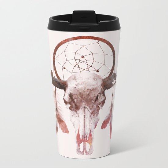 Deadly desert Metal Travel Mug