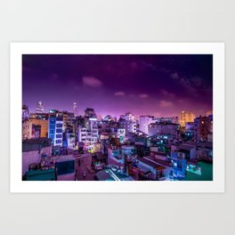 Oh Chi Minh City Art Print