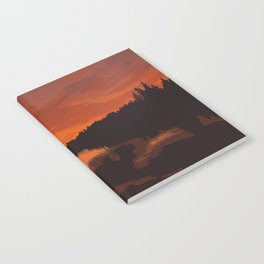Nopiming Provincial Park Poster Notebook