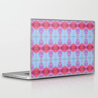 drums Laptop & iPad Skins featuring Drums and Parasols by SHI Designs