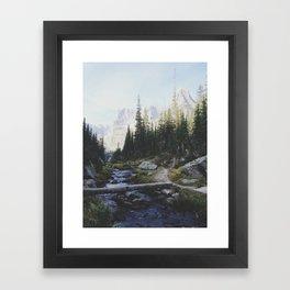 Rocky Mountain Creek Framed Art Print