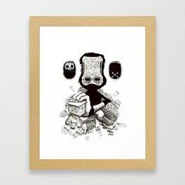 HELP mg/kg Framed Art Print
