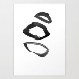 irregular 4 Art Print