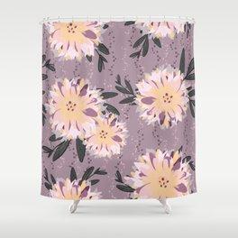 Fancy Floral Shower Curtain