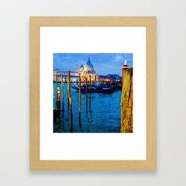 Basilica Di Santa Maria Della Salute Framed Art Print