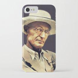 Hermann Hesse, Literary Legend iPhone Case