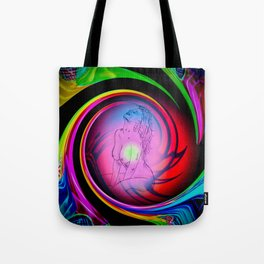 Abstract perfection - Akt Tote Bag