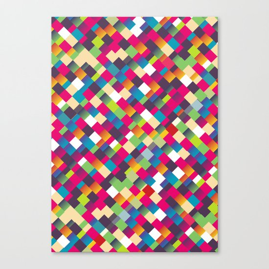 Sweet Pattern Canvas Print