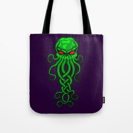 Celtic Cthulhu Tote Bag