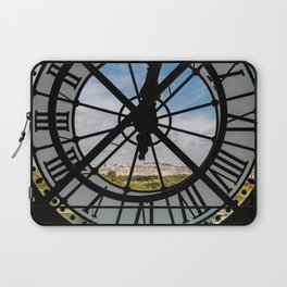 Giant glass clock at the Musée d'Orsay - Paris Laptop Sleeve