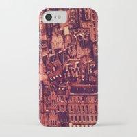 edinburgh iPhone & iPod Cases featuring Edinburgh by Molly Smiles