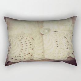 Lace ~ Embroidery  - JUSTART © Rectangular Pillow