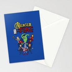 Avenger Time Stationery Cards