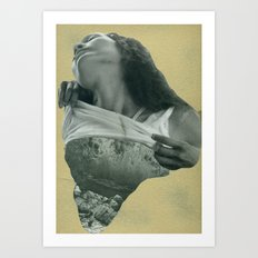 Gold is God. 1. Art Print