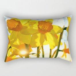 intence yellow Rectangular Pillow