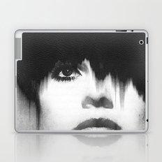 WOMEN (PORTRAIT) BLACK AND WHITE Laptop & iPad Skin