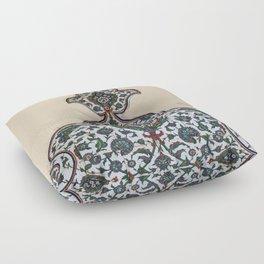 Arabesque pattern Floor Pillow