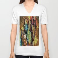 dead space V-neck T-shirts featuring Dead Space  by Joe Misrasi