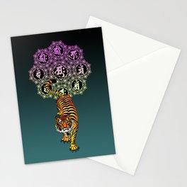 Tiger Bonji Stationery Cards
