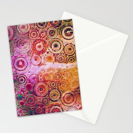 Metallic steampunk [2] Stationery Cards