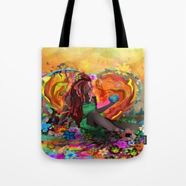 Cherish the Earth Tote Bag