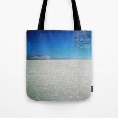 Playa Moon Tote Bag