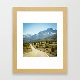 Cerro Castillo Framed Art Print