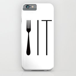 Fork It iPhone Case