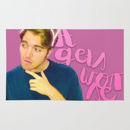 Shane Dawson - It Gets Worse Rug