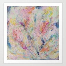 風の花(4) 2012 Art Print