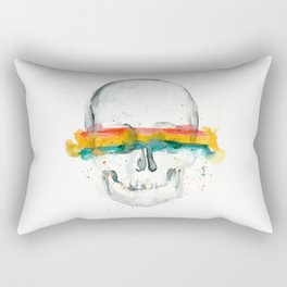 The Anonymity of Existence Rectangular Pillow