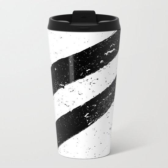STREET SLANG / Stripes 1 Metal Travel Mug