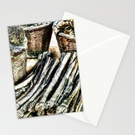 vegetables from steel Stationery Cards