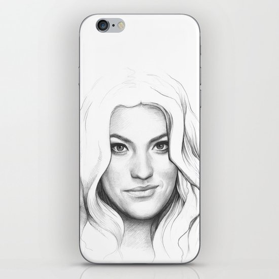 Debra Morgan (Jennifer Carpenter) iPhone & iPod Skin