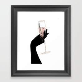 Rosemary Campagne Chic Framed Art Print