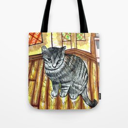 Willow Kitty Tote Bag