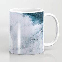 Powerful breaking wave in the Atlantic Ocean - Landscape Photography Coffee Mug